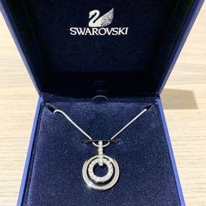Swarovski 681251 Circle Clear Crystal Pendant